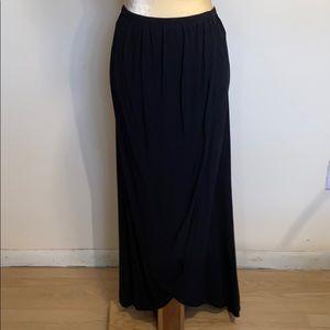 Old Navy Rayon Hi-Lo Maxi Skirt